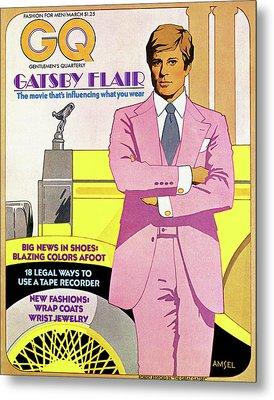 Gatsby Flair Metal Print by Richard Amsel