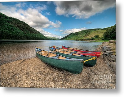 Geirionydd Lake Metal Print by Adrian Evans