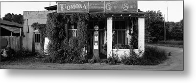 General Store, Pomona, Illinois, Usa Metal Print by Panoramic Images