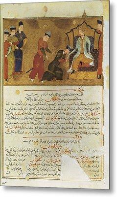 Gengis Khan 1162-1227. Emperor Founder Metal Print by Everett