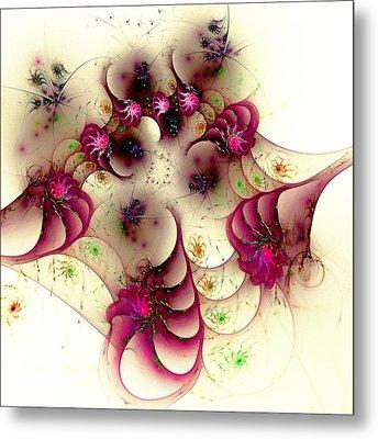 Gentle Pink Metal Print by Anastasiya Malakhova