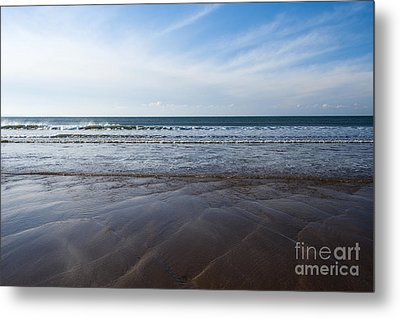 Gentle Waves Metal Print by Anne Gilbert