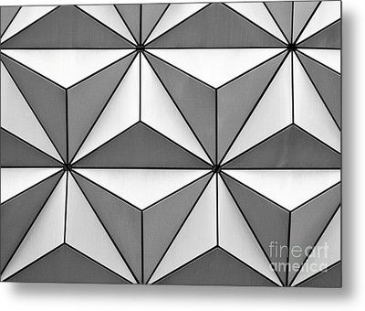 Geodesic Pyramids Metal Print by Sabrina L Ryan