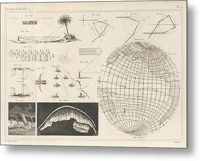 Geography And Meteorology Metal Print by King's College London