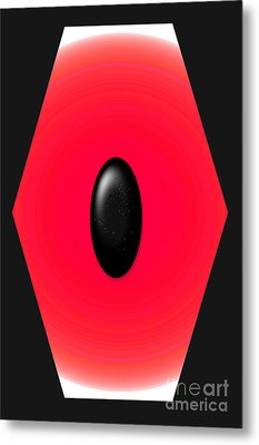 Geometric Shape Abstract 9 Metal Print by Tina M Wenger
