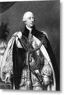George IIi Metal Print by Collection Abecasis