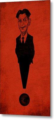 George Orwell Metal Print by Thomas Seltzer
