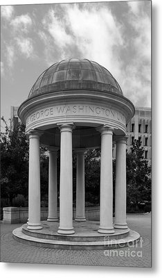 George Washington University Kogan Plaza Metal Print by University Icons
