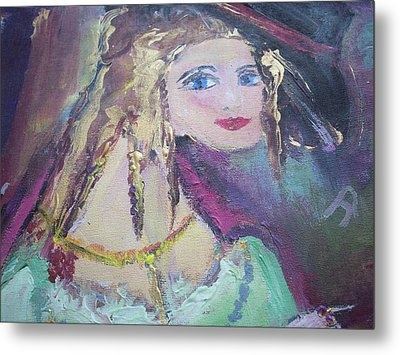 Georgiana And The Ring Metal Print by Judith Desrosiers