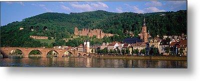 Germany, Heidelberg, Neckar River Metal Print by Panoramic Images