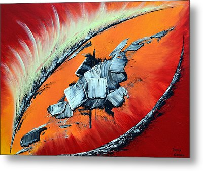 Geronimo Metal Print by Thierry Vobmann