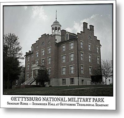 Gettysburg Seminary Ridge Poster Metal Print by Stephen Stookey