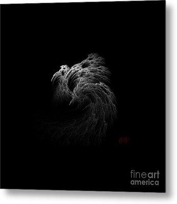 Ghost Metal Print by Amanda Collins