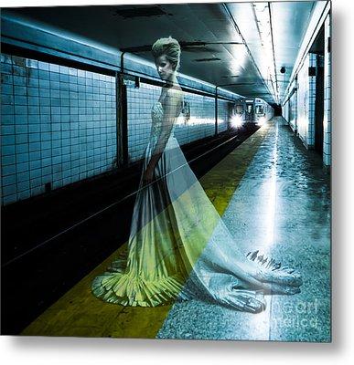 Ghost Bride Metal Print by Diane Diederich
