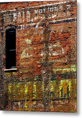 Ghost Sign 13469 3 Metal Print by Jerry Sodorff