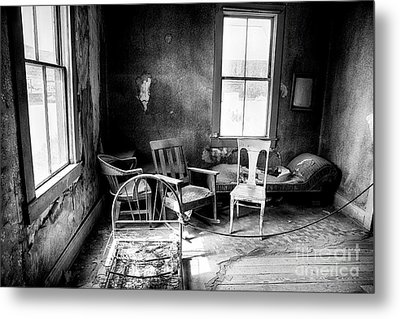 Ghost Town Still Life I Metal Print by George Oze