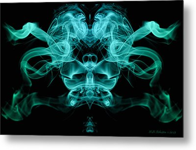 Ghostface Metal Print by WB Johnston