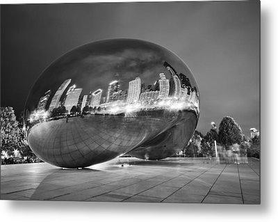 Ghosts In The Bean Metal Print by Adam Romanowicz