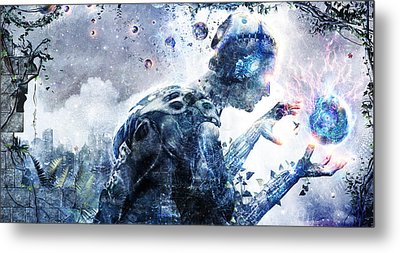 Ghosts Of The Concrete World Metal Print by Cameron Gray