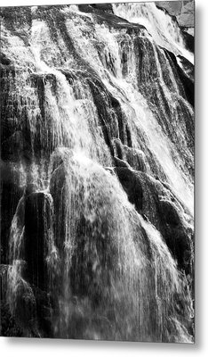 Gibbon Falls Metal Print by Bill Gallagher