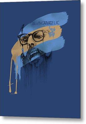 Ginsberg Metal Print by Pop Culture Prophet