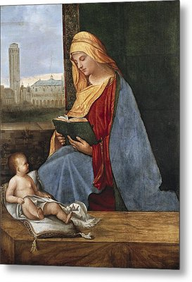 Giorgione, Pupil Of 15th-16th Century Metal Print by Everett