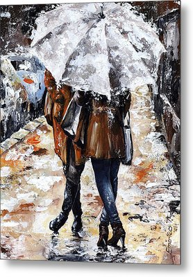Girlfriends Metal Print by Emerico Imre Toth