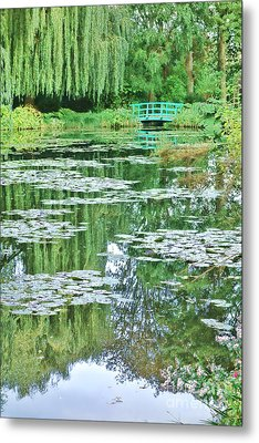 Giverny Metal Print by Olivier Le Queinec