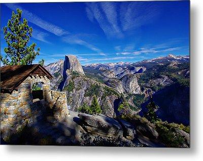 Glacier Point Yosemite National Park Metal Print by Scott McGuire