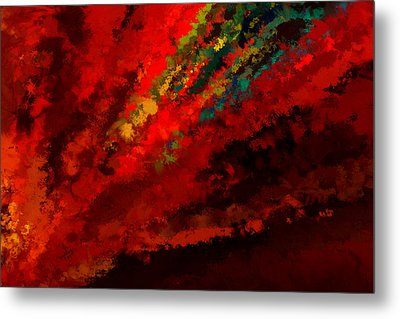 Glance Of Colors Metal Print by Lourry Legarde