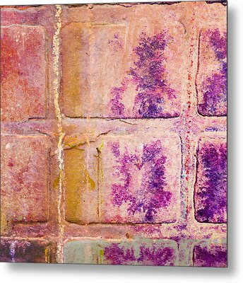 Glass Crossings 3 Metal Print by Carol Leigh