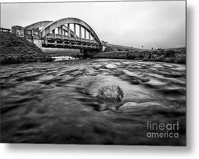 Glen Coe Bridge Metal Print by John Farnan