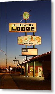 Globetrotter Lodge - Holbrook Metal Print by Mike McGlothlen