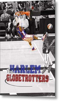 Globetrotters Super Slam Metal Print by Robert Saunders Jr