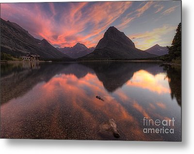 Glorious Swiftcurrent Metal Print by Mark Kiver