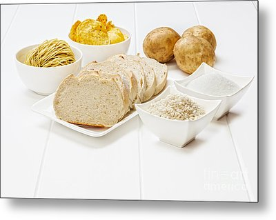 Glycemic Index High Gi Foods Metal Print by Colin and Linda McKie