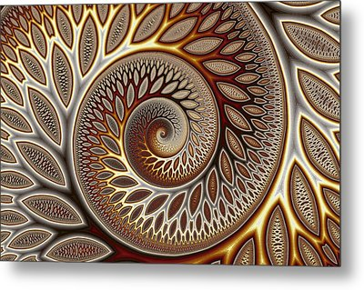 Glynn Spiral No. 1 Metal Print by Mark Eggleston