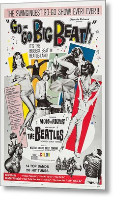 Go-go Big Beat, Us Poster, 1965 Metal Print by Everett