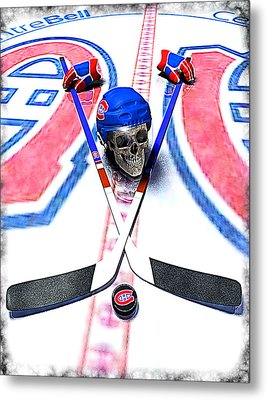 Go Habs Go Metal Print by Frederico Borges