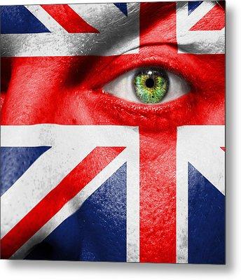 Go United Kingdom Metal Print by Semmick Photo