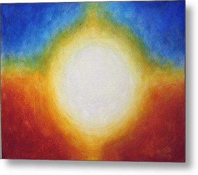 God Is A Circle Metal Print by Janelle Schneider
