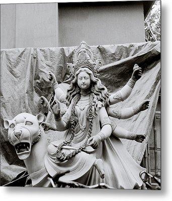 Goddess Durga Metal Print by Shaun Higson