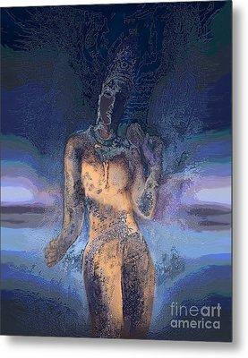 Goddess Metal Print by Ursula Freer