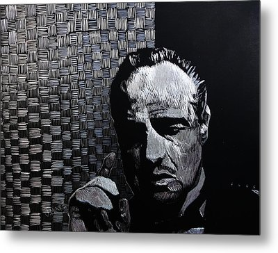 Godfather Metal Print by Jeremy Moore