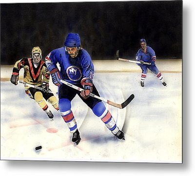 Going For It Metal Print by Todd Spaur