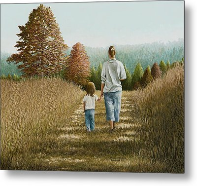 Going Home Metal Print by Mary Ann King