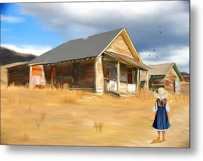 Going Home Metal Print by Mary Timman