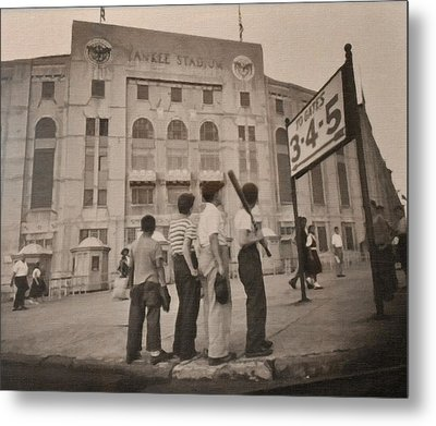 Going To The Ball Game Metal Print by Image Takers Photography LLC - Laura Morgan