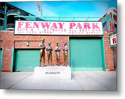 Going To The Park Metal Print by Greg Fortier