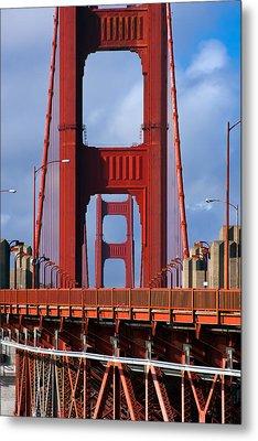 Golden Gate Bridge Metal Print by Adam Romanowicz